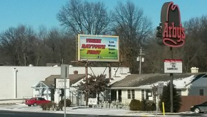 Bill Board on 350 Highway in Raytown